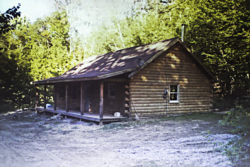 Don 39 T Be Fooled By The Outside This 57 550 Log Home Is